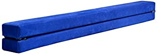 Gymnastics Training Equipment Portable 7Ft Floor Balance Beam Sport Skill Blue Foldable Gymnastics Training Practice Equip...
