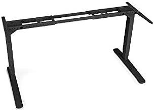 UPLIFT Desk - V2 2-Leg Height Adjustable Standing Desk Frame (Black) with Advanced 1-Touch Digital Memory Keypad
