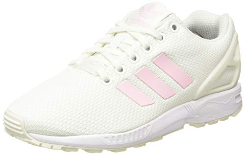 adidas ZX Flux W, Zapatillas Deportivas Mujer, White Tint S18 Clear Pink Core Black, 38 EU
