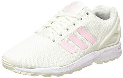 adidas ZX Flux W, Zapatillas de Gimnasio para Mujer, White Tint S18 Clear Pink Core Black, 35.5 EU