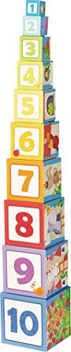 HABA 302030 - Stapelwürfel Rapunzel, Kleinkindspielzeug
