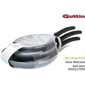 Quttin Set 3 SARTENES 202428 Mercurio
