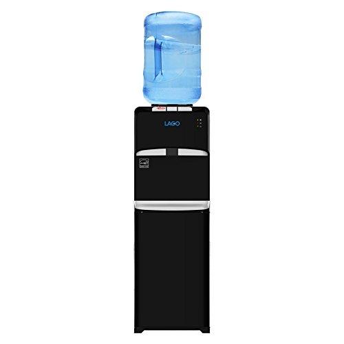 Lago Top Load Hot, Cold & Room Mini Black Water Cooler Dispenser