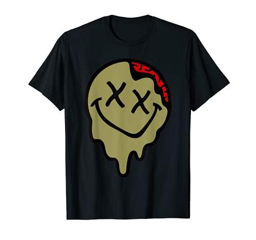 Scott Tee 4 amantes de las zapatillas Travis J.ordan 6 Smiley Slime Camiseta
