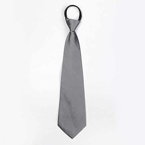 Wangwang454 Corbata Corta con Cremallera para Hombres, Vestido ...