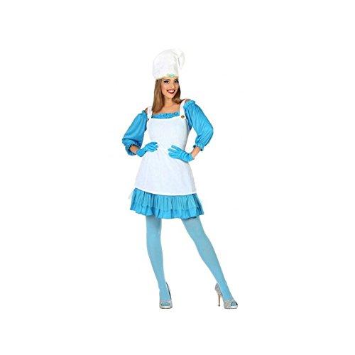 Atosa-5955 Disfraz Duende, color azul, XL (5955)