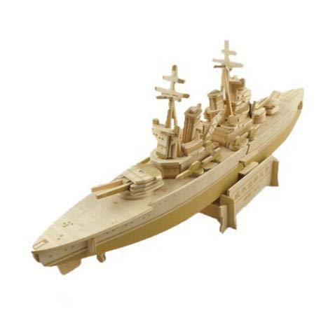 wassaw Holz Schlachtschiff DIY Montage Simulation Modell Walisische Puzzle Handwerk Schaukeln Prinz 3D Stereoscography