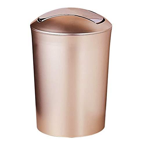 L.G. Trash Can - Bad European Style Kreativ Trash Can, Haus Wohnzimmer, Schlafzimmer, Küche Papierkorb, große und kleinen Papierkorb mit Deckel, schön und praktisch