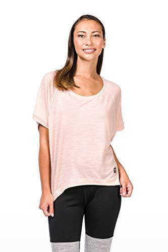 Super Natural W Motion peyto Femme en Laine m/érinos T-Shirt