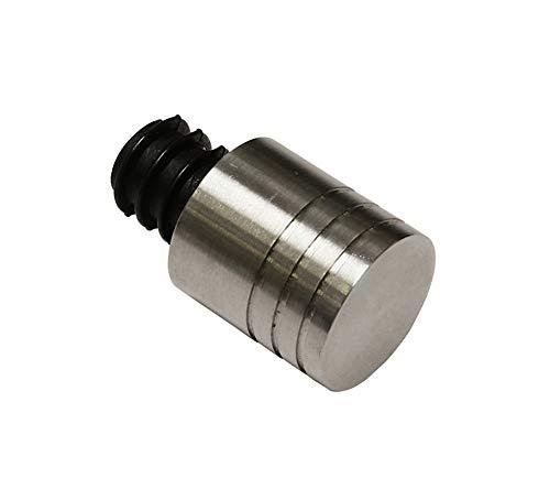 Gardinia Endknopf, Stainless_Steel, Edelstahl, Ø 12 mm