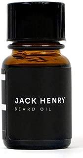 Jack Henry Original 4-Ingredient Organic Beard Oil, 1 Ounce