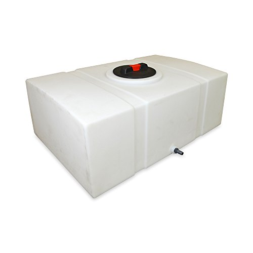 Low Profile Water Tank - 60 Gallon Capacity - Perfect for Mobile Automotive Detailing Use - detailing water tank