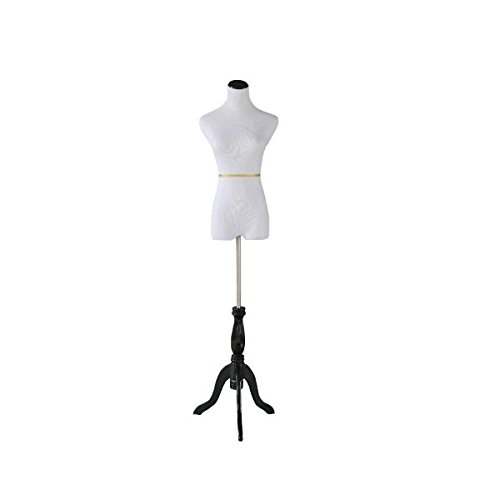 White Female Dress Form Mannequin Size 6-8