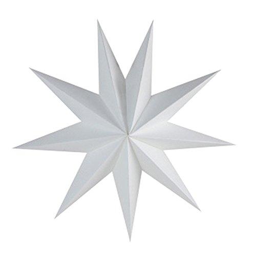 Hosaire 1x Hängen Ornament Origami Sternförmige Anhänger Wanddekoration Weihnachten Hochzeit Halloween Papier Dekoration
