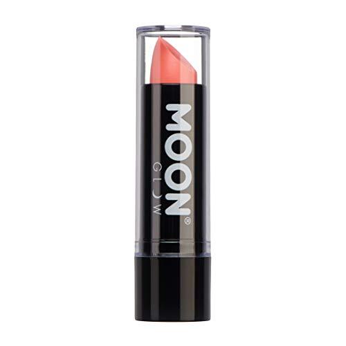 Moon Glow -Neon UV Lippenstift4.5g Pastell Koralle –ein spektakulär glühender Effekt bei UV- und Schwarzlicht!