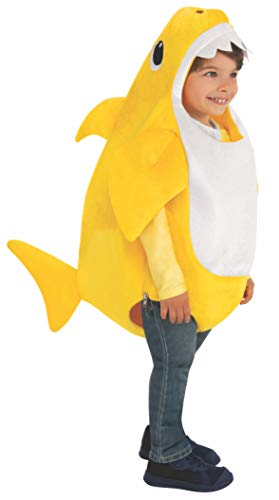 Baby Shark Fancy Dress Costume with Sound Chip Toddler Infant