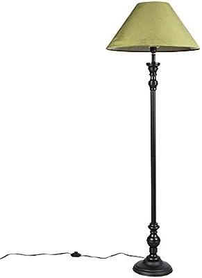 Moderne Stehlampe E27 grün Stahl Vintage Wohnzimmer