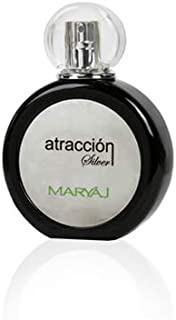 MARYAJ Atraccion Silver For Women - Eau De Parfum, 100 ml