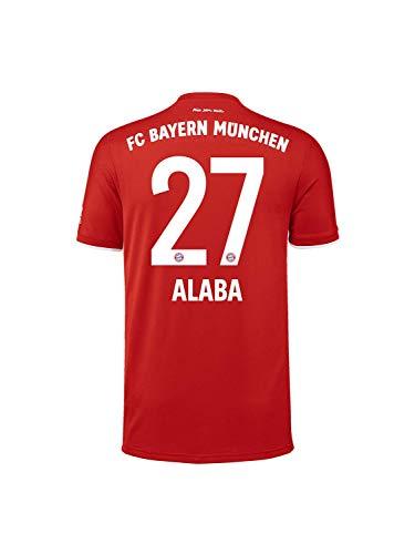 FC Bayern München Kinder Home-Trikot Saison 2020/21, Gr. 152, David Alaba