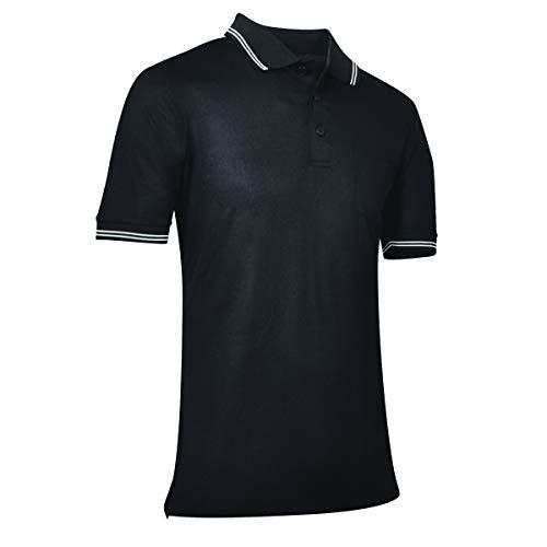 CHAMPRO Baseball/Softball Umpire Polo Shirt - Polyester, Adult X-Large, Black