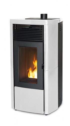 Pelletofen MCZ STAR AIR Maestro 8 kW verschiedene Farben Pellet Ofen Kaminofen Farbe Weiss