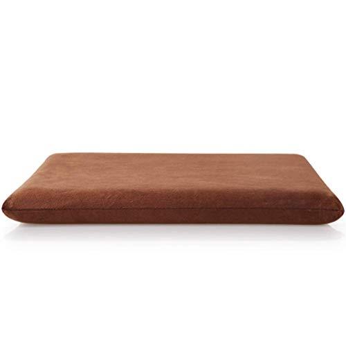 Aocean WJX & Likerr - Cojín de espuma viscoelástica para asiento de coche, asiento de oficina, chair o sillón, 40 x 40 cm