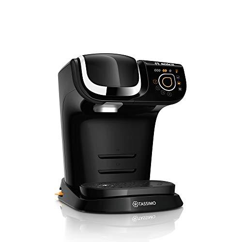 Bosch TAS6502 Tassimo My Way Kapselmaschine, über 70 Getränke, Personalisierung, vollautomatisch, BRITA Wasserfilter, 1500 W, schwarz