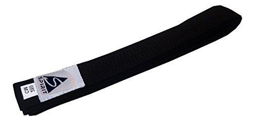Schwarzer Gürtel für Kampfsport (Judo, Karate, JuJitsu, Taekwondo), Erwachsene, 280cm