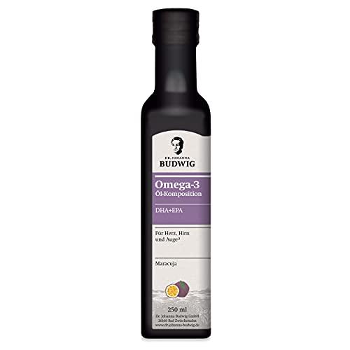Dr. Budwig Omega-3 DHA + EPA Maracuja - Das Original 250 ml