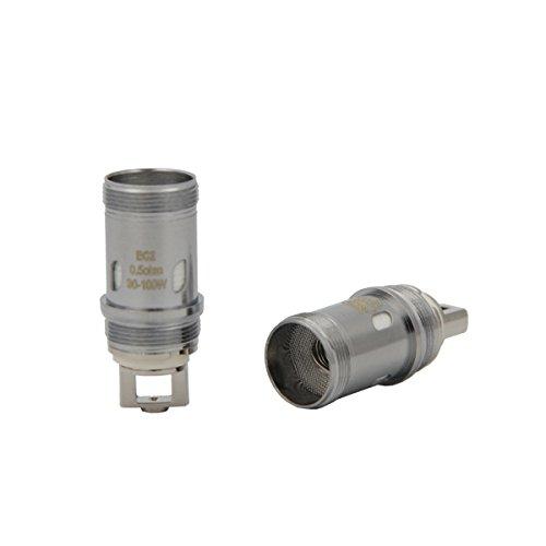 Eleaf EC 2 Bobina | di ricambio per l'atomizzatore originale Eleaf EC 2 0.5 Ohm cotone wick coil per il serbatoio della Eleaf Melo 4/IJust 2 senza nicotina