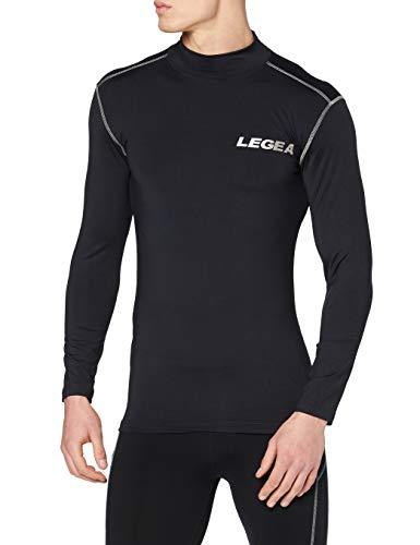 Legea Body 6 Dynamic Maillot de corps manches longues col montant Homme Bleu FR : M (Taille Fabricant : M)