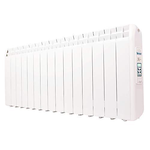 Farho elektrische verwarming met laag verbruik XP (Xana Plus) 1650 W (15) · elektrische radiator met chronothermostaat digitaal 24/7 · voor woonruimtes tot 25 m2