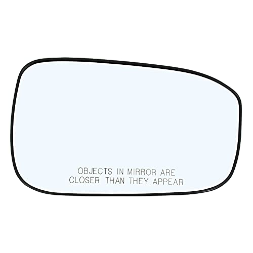 Right Hand Passenger Side Mirror Assembly Plastic Backing Plate Compatible With 2003 2004 2005 2006 2007 Honda Accord Glass 7-1/2 Inch Diagonal Sold By Rugged TUFF