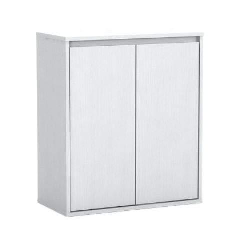 ジェックス アクアラックウッド600WH 幅60×奥行き30cm以下水槽用 組立式水槽台ホワイト 60.5x30.5x70センチメートル (x 1)