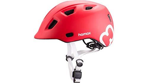 RennMaxe: Hamax Thundercap - Casco da Bicicletta con Fascia di Sicurezza, per Bambini e Ragazzi, 03654043, Colore: Rosso, 47-52 cm