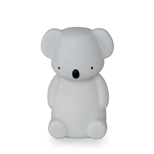 Teeny & Tiny Nachtlicht aus weichem Silikon, LED, batteriebetrieben Koala