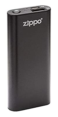 Zippo Black HeatBank 3 Rechargeable Hand Warmer, Model:40510