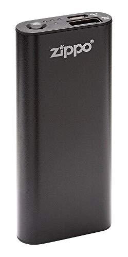 Zippo Black HeatBank 3 Rechargeable Hand Warmer, Model:40510