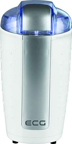 ECG KM 110 Elektrische koffiemolen, roestvrij staal, wit-zilver