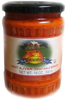 Ajvar Hot Vegetable Spread (gradina) 19.3oz