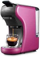 CGY 3 في 1 ماكينة القهوة (الوردي) صانعة القهوة متعددة الكبسولات (وردي)