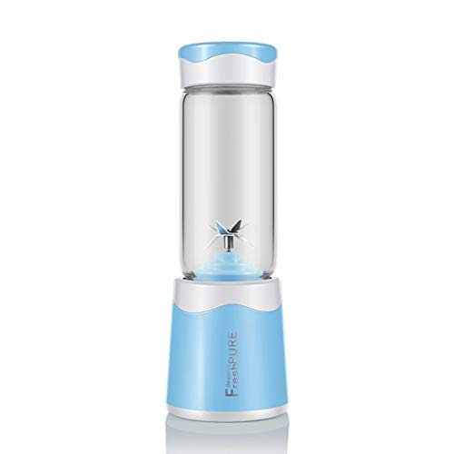 Lowest Price! KUANDARM Cup Portable Blender, Personal Blender with Battery, 380ml Juicer Cup USB Rec...