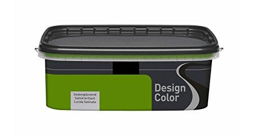 Design Color 1 L. Farbige Innenfarbe, Olive Seidenglänzend, Olivgrün