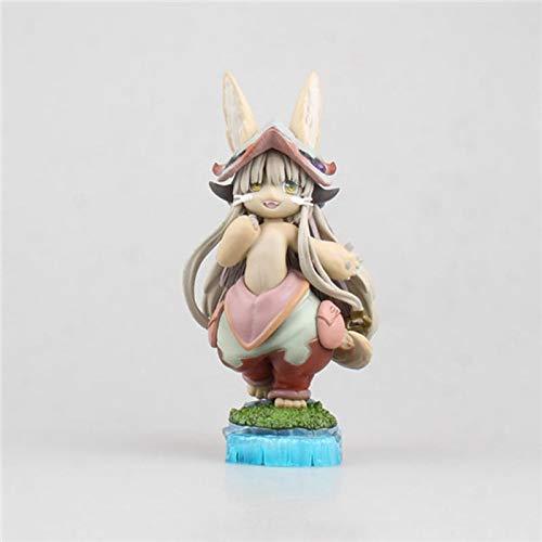 JINGXINA Hecho en Abyss/Nanachi/Figura de acción de Anime/Modelo de estatuas de Anime/Material de PVC/Adornos de muñecas/Regalos de decoración/Regalo para Novia/Regalo de San Valentín
