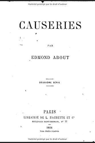 Causeries: deuxieme serie