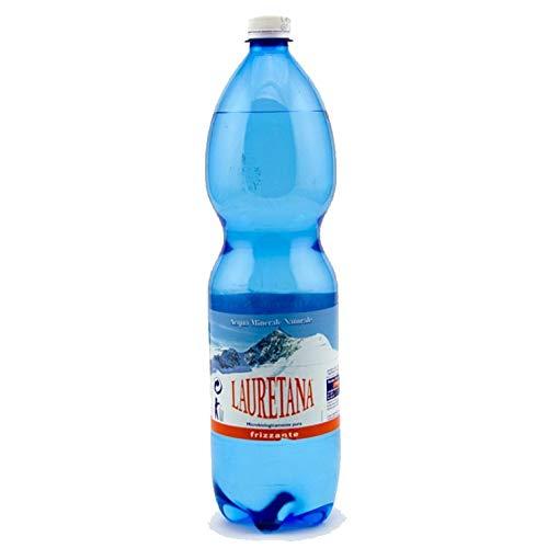 ACQUA LAURETANA FRIZZANTE 1.500 lt. a perdere - Pacchi da 6 bottiglie