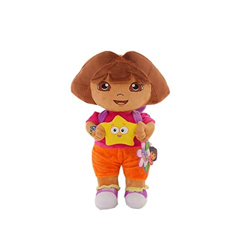 Liefde Avontuur Van Dora Aap Laarzen Swiper Pluche Pop Speelgoed, 25Cm Dora Aap Gevuld Zachte Tv Films Knuffel Voor Kinderen B