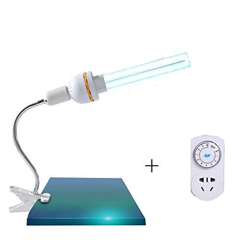 Uv-desinfectie-lamp 30 W kiemdodende licht-luchtreinigingslamp, antibacteriële laag, 100% huishouden, kleuterschool, binnen