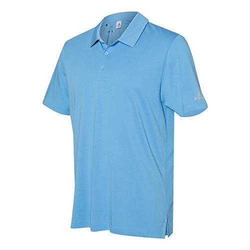 adidas A322 - Camiseta deportiva para hombre, mezcla de algodón, color azul claro
