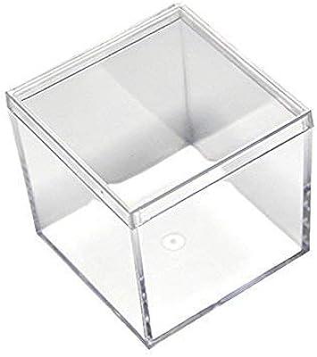 WLDD Caja De Donación - Caja De Recolección - Urna Transparente, Caja De Sorteo Pantry Ofertas (Color : S): Amazon.es: Hogar
